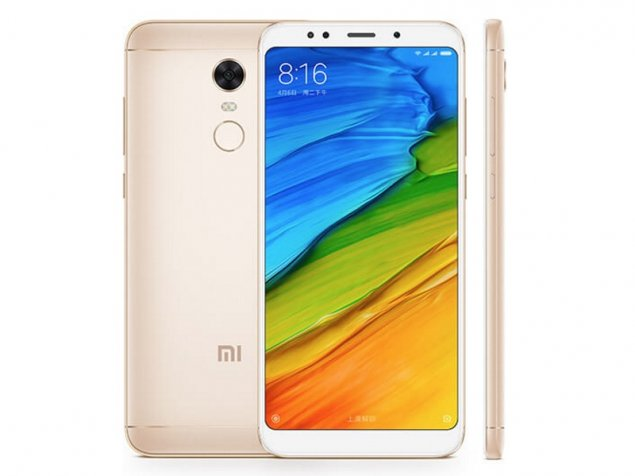 Xiaomi Redmi 5 Plus launched -...