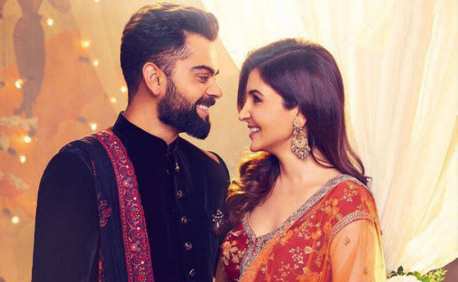 A Few Hours Ago Virat Kohli And Hka Sharma Got Married All Over The World Like Wind It Was Said That Between 9 12 December These