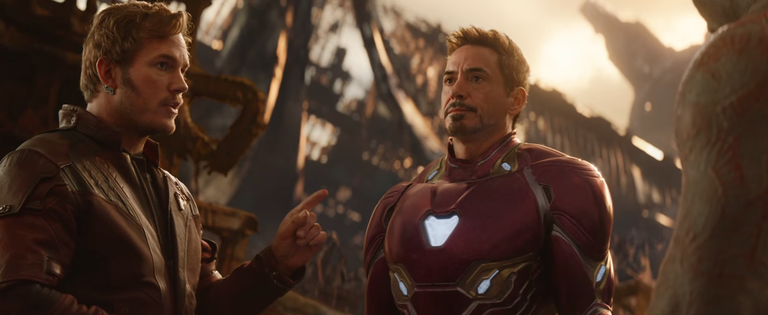 'Avengers: Infinity War' Trailer Unites Marvel's All-Stars Views online